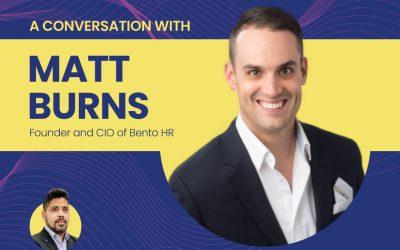 Live2Inspire Episode 2, Full Interview with Matt Burns, Founder, Bento HR