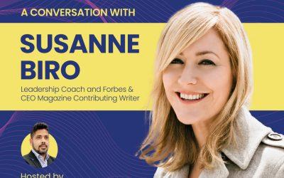Live2Inspire Episode 4, interview with Susanne Biro, TEDx Speaker, Leadership Coach, Author